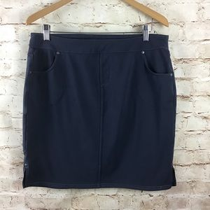 Athleta Blue Bettona Athletic Skirt Size Large